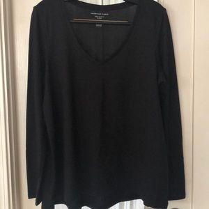 AE Soft & Sexy Plush V-Neck Long Sleeve Top